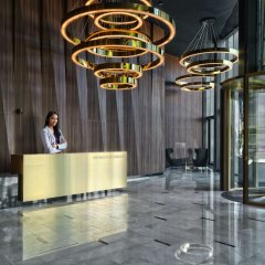 Апартаменты Mennica Central Apartments интерьер отеля