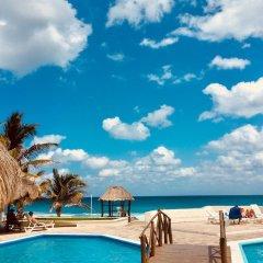 Отель Condominios Brisas Cancun Zona Hotelera пляж фото 3