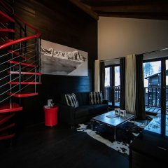 Отель Hôtel Avenue Lodge удобства в номере