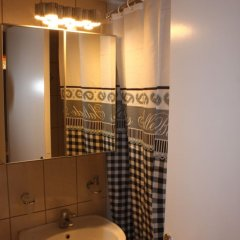 Апартаменты Affordable Studio Behind Acropolis Museum ванная