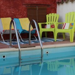 Отель Casa Rural Santa Maria Del Guadiana Сьюдад-Реаль бассейн фото 3