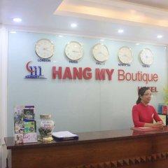 Отель Hang My Hotel Вьетнам, Ханой - отзывы, цены и фото номеров - забронировать отель Hang My Hotel онлайн интерьер отеля фото 2