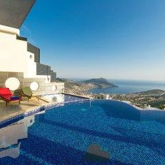 Villa Heart Турция, Калкан - отзывы, цены и фото номеров - забронировать отель Villa Heart онлайн бассейн фото 2