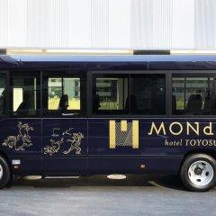 hotel MONday toyosu городской автобус