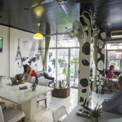Cow Hostel Бангкок гостиничный бар