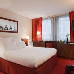 Отель Hôtel Concorde Montparnasse 4* Классический номер с различными типами кроватей фото 13