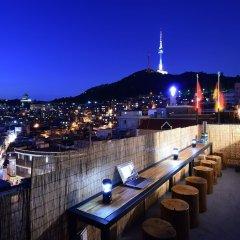 Отель Photo Park Guesthouse Сеул балкон