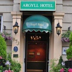 Argyll Hotel Глазго банкомат