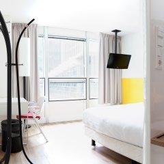Отель Qbic Hotel Wtc Amsterdam Нидерланды, Амстердам - 6 отзывов об отеле, цены и фото номеров - забронировать отель Qbic Hotel Wtc Amsterdam онлайн комната для гостей фото 2