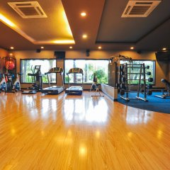 Отель Diamond Bay Resort & Spa фитнесс-зал фото 4