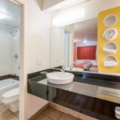 Отель Motel 6 Columbus - Worthington США, Колумбус - отзывы, цены и фото номеров - забронировать отель Motel 6 Columbus - Worthington онлайн ванная фото 2