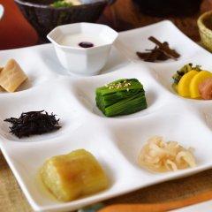 Отель Oyado Hanabou Минамиогуни питание фото 3