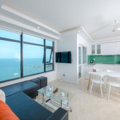 Апартаменты Beach City Apartment Нячанг в номере фото 2