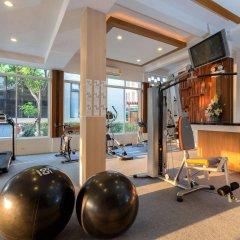 Bhukitta Hotel & Spa фитнесс-зал фото 2