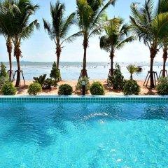 Отель Golden Dragon Beach Pattaya Таиланд, Бангламунг - отзывы, цены и фото номеров - забронировать отель Golden Dragon Beach Pattaya онлайн бассейн фото 3