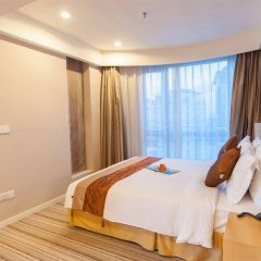 Отель Somerset Garden City Shenzhen Hotel Китай, Шэньчжэнь - отзывы, цены и фото номеров - забронировать отель Somerset Garden City Shenzhen Hotel онлайн комната для гостей фото 5