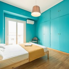 Апартаменты Athens Penthouse Paradise Apartment комната для гостей фото 5