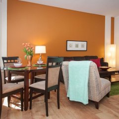 Отель Sunshine Suites at 417 США, Лос-Анджелес - отзывы, цены и фото номеров - забронировать отель Sunshine Suites at 417 онлайн удобства в номере