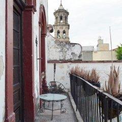 Отель Casa Guadalupe GDL Мексика, Гвадалахара - отзывы, цены и фото номеров - забронировать отель Casa Guadalupe GDL онлайн балкон