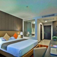Отель Mida Airport Бангкок комната для гостей