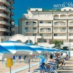 Отель Touring Римини пляж