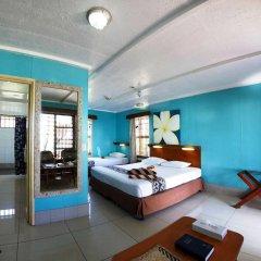 Отель Beachcomber Island Resort Фиджи, Остров Баунти - отзывы, цены и фото номеров - забронировать отель Beachcomber Island Resort онлайн комната для гостей фото 4