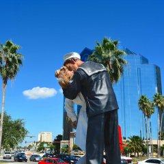 Отель Comfort Suites Sarasota - Siesta Key парковка