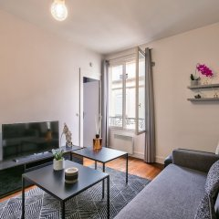 Апартаменты 83 - Classy Apartment Paris Le Marais комната для гостей фото 4