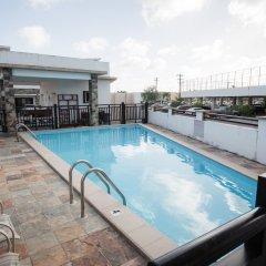 Отель Tumon Bel-Air Serviced Residence США, Тамунинг - отзывы, цены и фото номеров - забронировать отель Tumon Bel-Air Serviced Residence онлайн бассейн