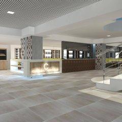 Отель Aparthotel Cabau Aquasol Испания, Пальманова - 1 отзыв об отеле, цены и фото номеров - забронировать отель Aparthotel Cabau Aquasol онлайн интерьер отеля