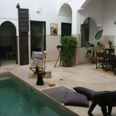 Отель Riad Dar Massaï Марокко, Марракеш - отзывы, цены и фото номеров - забронировать отель Riad Dar Massaï онлайн бассейн