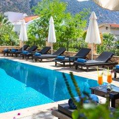 Korsan Apartments Турция, Калкан - отзывы, цены и фото номеров - забронировать отель Korsan Apartments онлайн бассейн