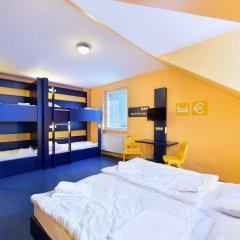 Отель Bedn Budget Cityhostel Hannover комната для гостей