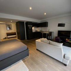 Отель Flat Brugmann Бельгия, Брюссель - отзывы, цены и фото номеров - забронировать отель Flat Brugmann онлайн комната для гостей фото 3