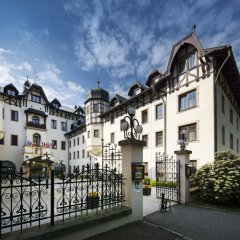 Отель Chateau Monty Spa Resort Чехия, Марианске-Лазне - отзывы, цены и фото номеров - забронировать отель Chateau Monty Spa Resort онлайн вид на фасад