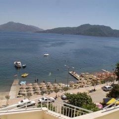 Luna Beach Deluxe Hotel Турция, Мармарис - отзывы, цены и фото номеров - забронировать отель Luna Beach Deluxe Hotel онлайн пляж