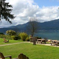 Отель Lake Quinault Lodge Куинолт приотельная территория фото 2