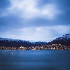 Radisson Blu Polar Hotel Spitsbergen Тромсе приотельная территория фото 2