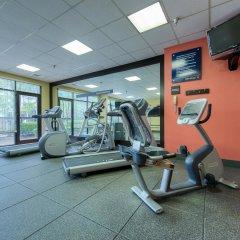 Отель Hampton Inn Meridian фитнесс-зал