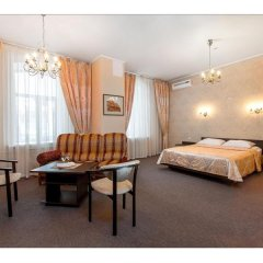 Гостиница Самара Люкс 3* Стандартный номер двуспальная кровать фото 12