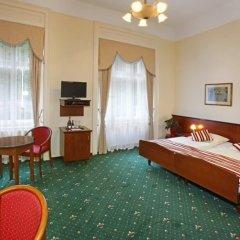 Отель Sant Georg Garni Чехия, Марианске-Лазне - отзывы, цены и фото номеров - забронировать отель Sant Georg Garni онлайн комната для гостей фото 5