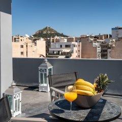 Апартаменты Athens City Center Apartment балкон