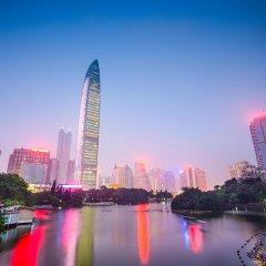 Отель Shenzhen She & He Apartment (Yuhedi) Китай, Шэньчжэнь - отзывы, цены и фото номеров - забронировать отель Shenzhen She & He Apartment (Yuhedi) онлайн приотельная территория фото 2