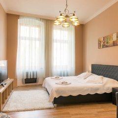 Отель Libušina Apartments Чехия, Карловы Вары - отзывы, цены и фото номеров - забронировать отель Libušina Apartments онлайн комната для гостей фото 5