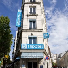 Отель Hipotel Paris Belgrand Франция, Париж - отзывы, цены и фото номеров - забронировать отель Hipotel Paris Belgrand онлайн вид на фасад фото 2