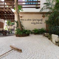 Отель Quinta Margarita Boho Chic Плая-дель-Кармен парковка