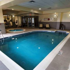 Отель Hilton Garden Inn Columbus-University Area США, Колумбус - отзывы, цены и фото номеров - забронировать отель Hilton Garden Inn Columbus-University Area онлайн бассейн