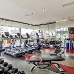 Отель Doubletree By Hilton Sukhumvit Бангкок фитнесс-зал