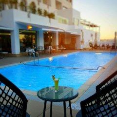 Отель Fredj Hotel and Spa Марокко, Танжер - отзывы, цены и фото номеров - забронировать отель Fredj Hotel and Spa онлайн бассейн фото 2