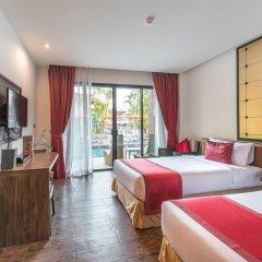 Отель The Beach Heights Resort 4* Номер Делюкс с различными типами кроватей фото 5
